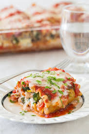 roasted vegetable lasagna roll ups cooking classy