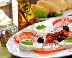comment cuisiner la mozzarella recette salade de tomate mozzarella