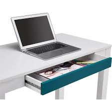 Chevron Desk Accessories by Parsons Desk With Colored Drawer Multiple Colors Walmart Com