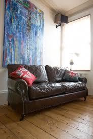 Vintage Leather Sofa Bed Best 25 Vintage Leather Sofa Ideas On Pinterest Leather Sofa