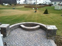 Paver Patio Designs With Fire Pit Paver Patio Design And Installation U2013 Columbus Decks Porches And