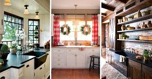 kitchen country ideas 23 best rustic country kitchen design ideas and decorations for 2018