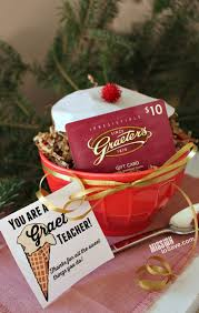 teacher gift idea for graeter u0027s fan you are a