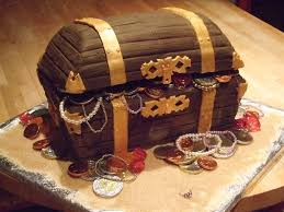 treasure chest cakes u2013 decoration ideas little birthday cakes