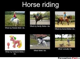 Housekeeper Meme - horse riding what people think i do what i really do