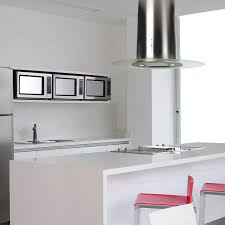 island kitchen hoods 90cm oval island stainless steel