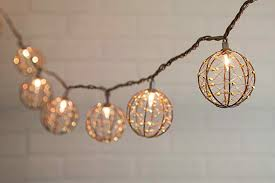 copper globe string lights string lights metallic spheres 6 feet outdoor plug in warm white