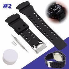 bracelet montre silicone images Bracelet montre en silicone bande pour casio g shock 16mm ga 100 g jpg