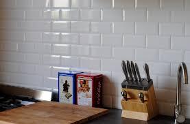 carrelage cuisine credence credence cuisine carrelage metro avec diy cr dence cuisine m tro