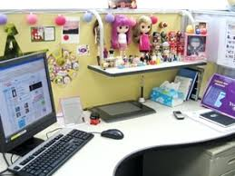 office design decorated office cubicles decorating office