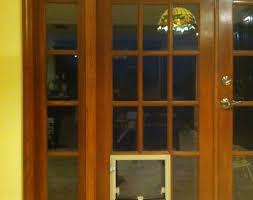Glass Door With Dog Door Built In by Serene Sliding Glass Door With Pet Door Built In Tags Dog Door