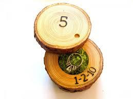wood anniversary gift ideas 5th anniversary gift wood anniversary ring box 2459886 weddbook
