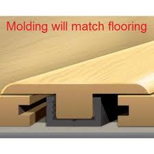 t molding laminate flooring transition trim w track 94 per