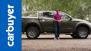 Mitsubishi L200 Pickup Review Carbuyer Youtube
