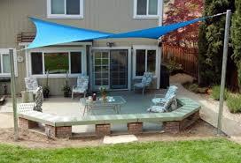 Awning Ideas Terrace And Garden Sun Protection Ideas U2013 Use Solar Sails And