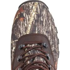 rocky sport utility men u0027s insulated waterproof camo boot