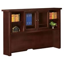 Bookcases With Sliding Glass Doors Desktop Hutch Computer Overhead Storage For Desks In The Home