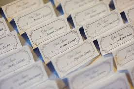 plantable place cards make an appearance on the black book