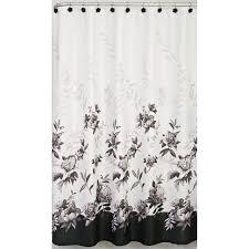 White And Black Shower Curtains Polka Dot Shower Curtain Tags 89 Awful Black And White Shower