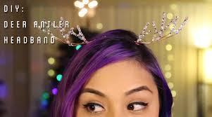 deer headband deer antler headband diy tiffyquake
