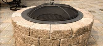 Brick Fire Pit Kit by Paver Fire Pit Kit Lowes Design And Ideas