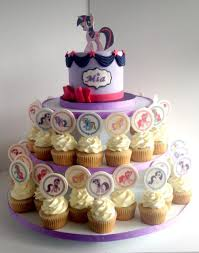 my pony cupcakes my pony cake and cupcakes cakecentral