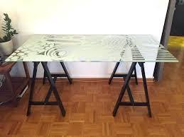 bureau ikea plateau verre plaque verre ikea bureau en verre ikea dessus de bureau en verre