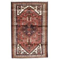 Houston Area Rugs Handmade Rectangular Persian Bijar Runner Area Rug In Red With