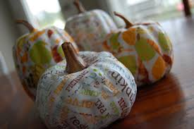 make fall mod podge pumpkins u2013 dollar store crafts
