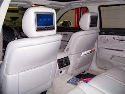 lexus rc backseat lexus rear seat dvd headrest rosen av7500 entertainment system