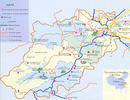 Nanjing China Map by Hangzhou Travel Guide City Guide Attractions Services Travel Tips