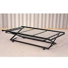 Metal Bed Frame Casters Rolling Pop Up Trundle Metal Frame Casters Support Link