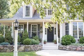 colonial house with farmers porch our most asked question our exterior house colors finding