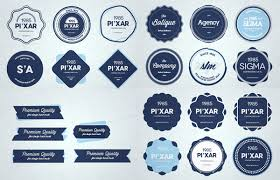 xoo plate 28 finely crafted web ui badges set psd 28 creative