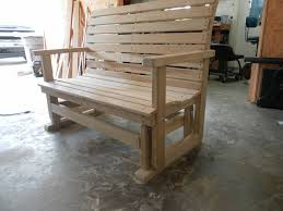 porch glider by farrout lumberjocks com woodworking community