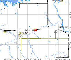 beulah dakota map hazen dakota nd 58545 profile population maps real