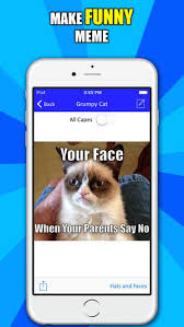 Meme Generator App Iphone - make a meme funny memes generator on the app store