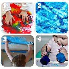 painting activities for babies craft room