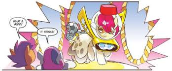 Mlp Easter Eggs Comic Review My Pony Micro Series Issue 7 The
