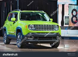 gecko green jeep for sale detroit january 11 2017 jeep renegade stock photo 376759078
