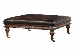 Cheap Ottomans Furniture Upholstered Ottoman Coffee Table New Leather