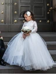 Wedding Dresses For Kids Turmec White Ball Gown Dresses For Kids