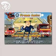 fireman sam fireman sam invitation fireman sam birthday fireman