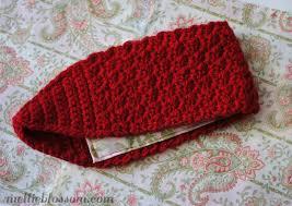 crochet headband crochet headband for winter mellie blossom