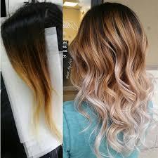 medium length hair with ombre highlights 10 beautiful balayage highlight ideas popular haircuts
