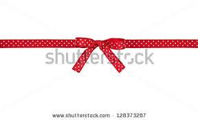and white polka dot ribbon white polka dot ribbon bow stock photo 128373287
