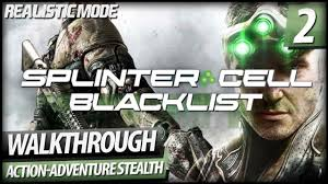 splinter cell blacklist realistic mode walkthrough part 2