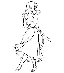 cinderella coloring pages kit princess cinderella coloring