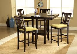 Coaster Hyde Oval Counter Height Dining Table In Rich Dark - Tropical dining room sets counter height