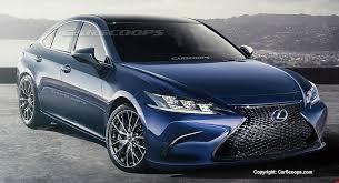 future lexus cars future cars 2019 lexus es kicks gs sibling to the curb